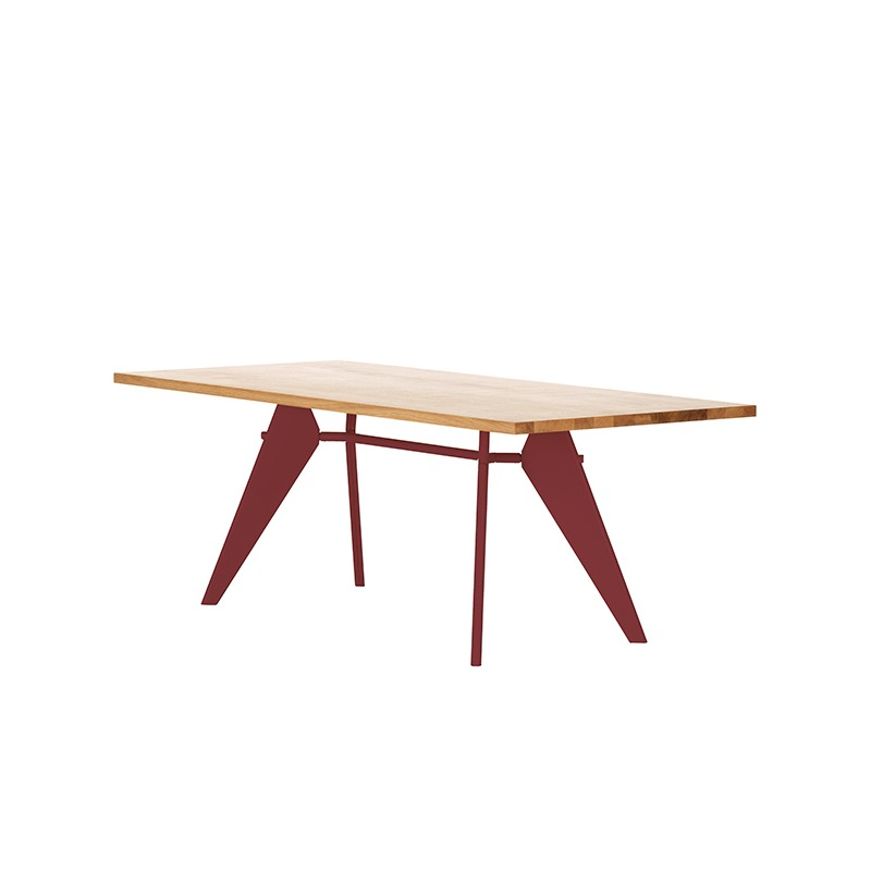 em table vitra table vitra table contemporaine table jean prouv table design bois. Black Bedroom Furniture Sets. Home Design Ideas