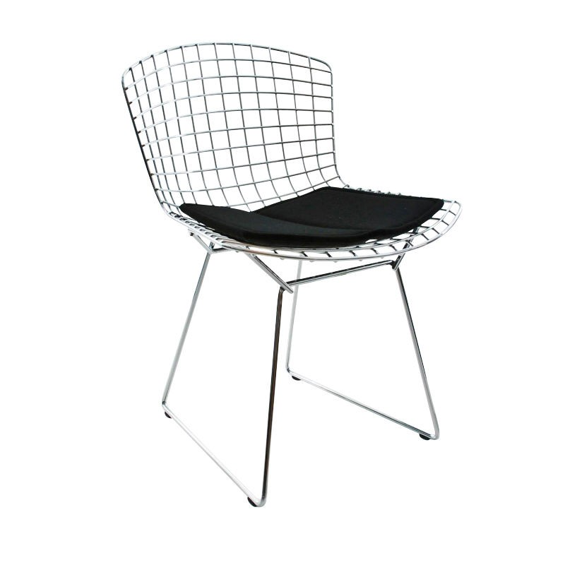chaise bertoia knoll chaise m tal design bertoia chair knoll chaise ann e 1950. Black Bedroom Furniture Sets. Home Design Ideas